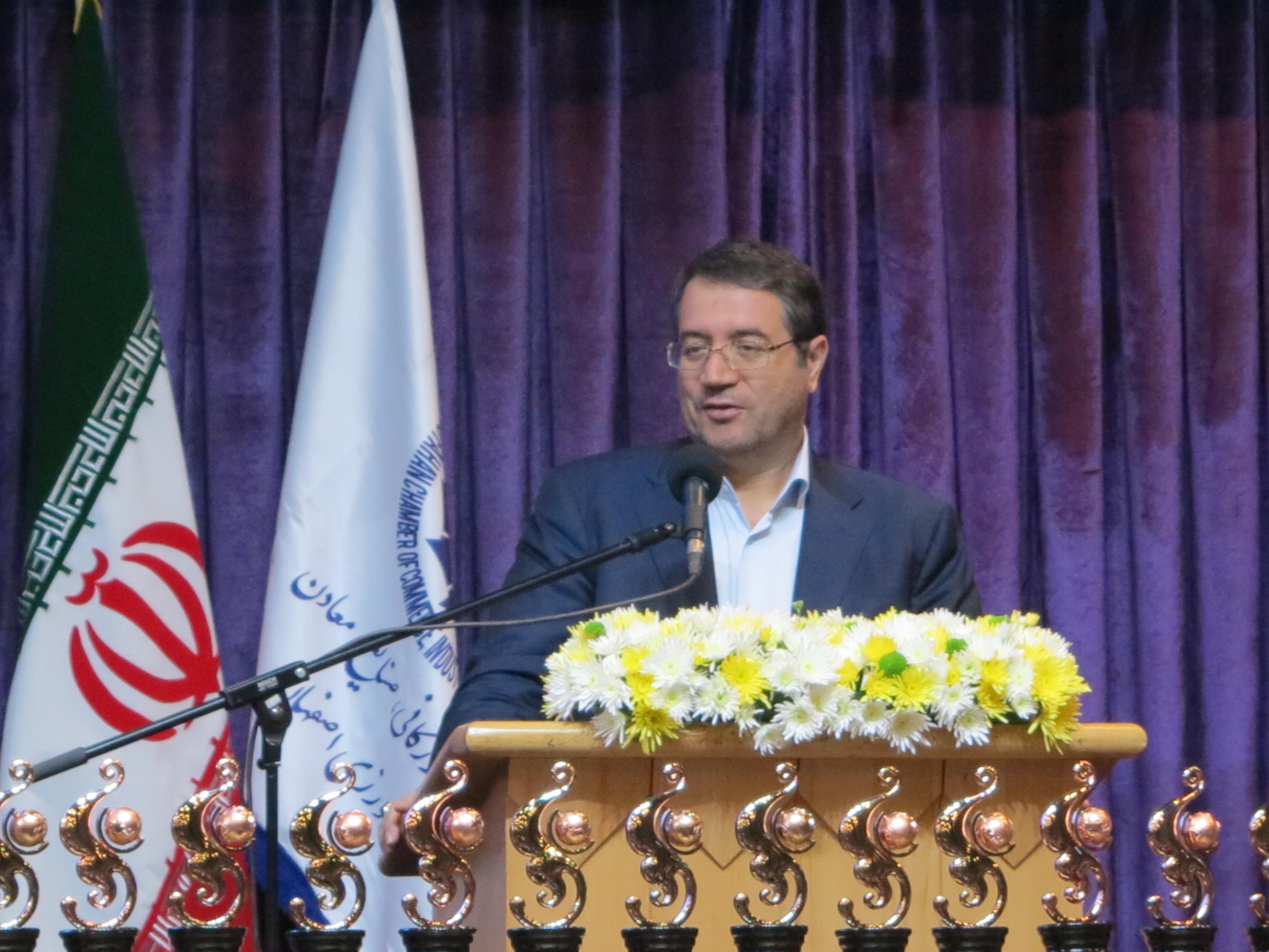تجلیل از صادرکنندگان نمونه اصفهان با حضور وزیر صنعت 27 دیماه 97