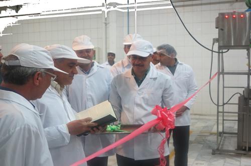 افتتاح فاز دوم طرح توسعه کارخانه خوشگوار فریدونشهر